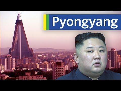 Jak dynastie Kimů projektovala Pchjongjang - City Beautiful