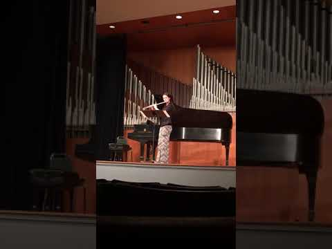 Piece for Solo Flute by Jacques Ibert. Performed at the 2017 Mid-South Flute Society's Flute Fair.