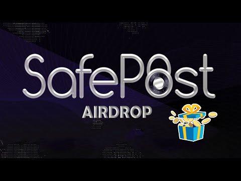 Ganhe 1,000 STAMP Tokens Gratuitamente no Airdrop Safepost. Já Pagou !!