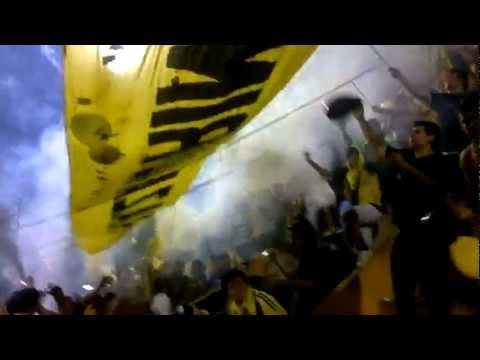"""Recibimiento GUARANI vs li""B""ertad clausura 2012 [HD]"" Barra: La Raza Aurinegra • Club: Guaraní de Asunción"