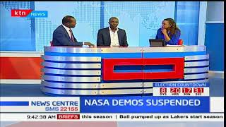 Analysis: Should NASA leader back off and let the electoral process continue after his withdrawal?