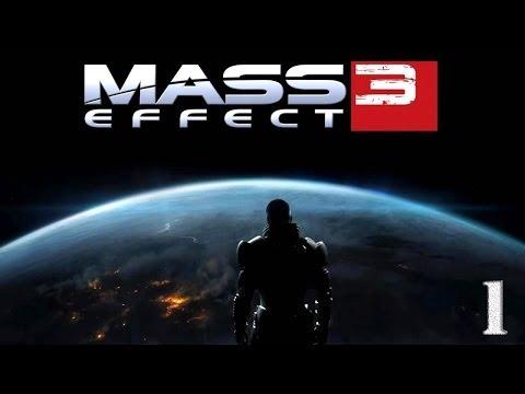 Прохождение Mass Effect 3 - часть 1:Отставной офицер