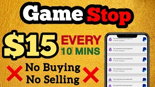 Make $15 Every 10 Minutes with Gamestop  | Make Money Online | How To Make Money Online
