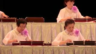 「湯の町エレジー」第8回シニアコンサート 大正琴演奏