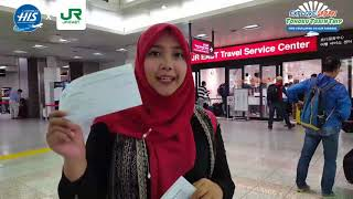 Tohoku Train Trip - Cara Menukarkan Voucher JR East Pass
