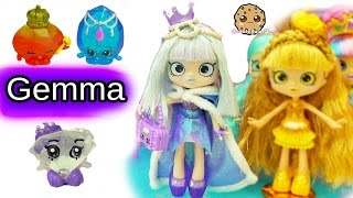 Special Edition Limited Gemma Stone Shoppies Doll with Exclusive Shopkins Surprise Blind Bags