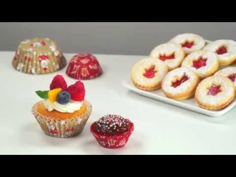 Video TESCOMA cukrářské košíčky DELÍCIA ø 6 cm, 60 ks, zimní 2