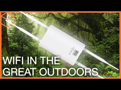Engenius ENS620EXT Outdoor Access Point – Strong WiFi outside the house!