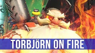 Overwatch: Torbjörn On Fire! (Play of the Game)