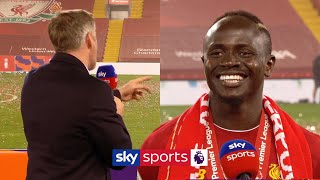 SUBSCRIBE ► http://bit.ly/SSFootballSub PREMIER LEAGUE HIGHLIGHTS ► http://bit.ly/SkySportsPLHighlights Jamie Carragher interviewed Sadio Mane after Liverpool lifted the Premier League and confessed his love for the Senegalese forward.  Watch Premier League LIVE on Sky Sports here ► http://bit.ly/WatchSkyPL ►TWITTER: https://twitter.com/skysportsfootball ►FACEBOOK: http://www.facebook.com/skysports ►WEBSITE: http://www.skysports.com/football  MORE FROM SKY SPORTS ON YOUTUBE: ►SKY SPORTS CRICKET: https://bit.ly/SubscribeSkyCricket ►SKY SPORTS BOXING: http://bit.ly/SSBoxingSub ►SOCCER AM: http://bit.ly/SoccerAMSub ►SKY SPORTS F1: http://bit.ly/SubscribeSkyF1