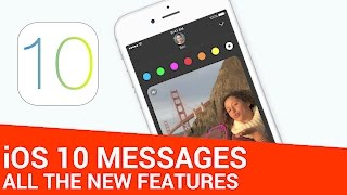 29 New Features For Messages in iOS 10