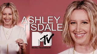 Ashley Tisdale - Q&A on MTV News for her new album Symptoms