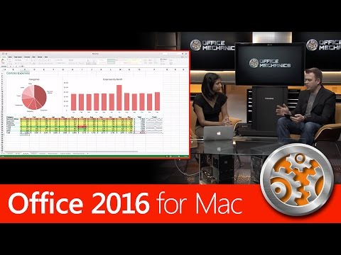Overview of Office 2016 for Mac