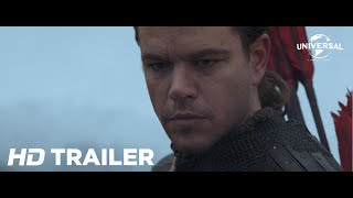 Official Trailer 1 - The Great Wall