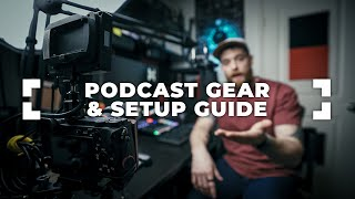 DETAILED Live Stream Video Podcast Studio Gear and Setup Guide