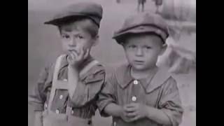 1935 год.Город-герой Ленинград.Мирная жизнь предвоенных лет.Кадры американской кинохроники.