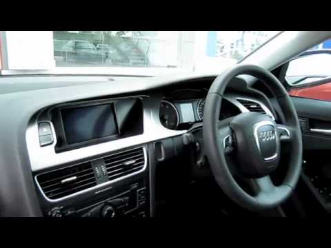 2010 Audi A4 1.8TFSI Start-Up and Full Vehicle Tour