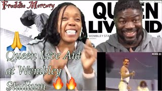 First Reaction to - Queen -1985 Live Aid ft. Freddie Mercury