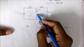 Mesh Analysis | Network Theory