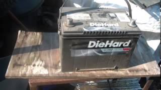 4_12_14, Junkyard battery for Ford F150,