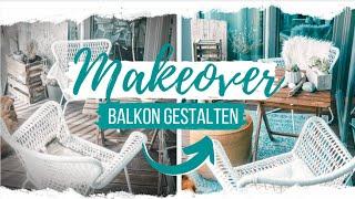 Balkon gestalten - Dekoideen schnell, schön und günstig | Lilies Diary