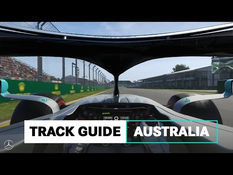 Image: Watch: Mercedes' guide to the Albert Park circuit