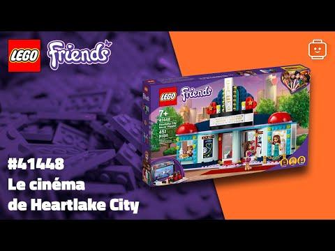 Vidéo LEGO Friends 41448 : Le cinéma de Heartlake City