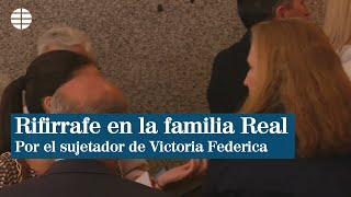 Nuevo rifirrafe en la familia Real entre la Infanta Elena y su hija.