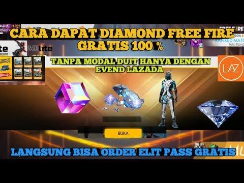 LOGIN LAZADA BISA DAPAT DIAMOND FREE FIRE SECARA GRATIS ?