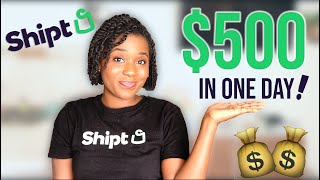 How to be a Shipt Shopper | Shopper Review + Earnings| How much do Shipt Shoppers Make?
