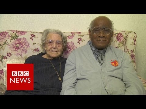 Couple who faced racism mark 73 years - BBC News