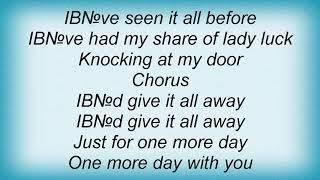 Saxon - Give It All Away Lyrics