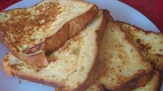 How to make Toast Mayai(Kenyan French Toast)