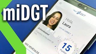 'mi DGT' ya está disponible: esto es todo lo que puedes hacer con la app oficial de la DGT