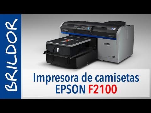 EPSON SureColor F2100: Mejor Impresora de Camisetas DTG
