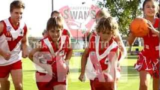 preview picture of video 'Auskick Griffith Swans Juniors Rego'