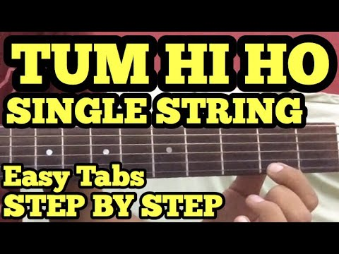 Tum Hi Ho Guitar Tabs/Lead Lesson | SINGLE STRING | Cover | Aashiqui2 | Arijit Singh | For Beginners Mp3