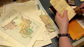 Stashistry: Map Pages (Making Ephemera)