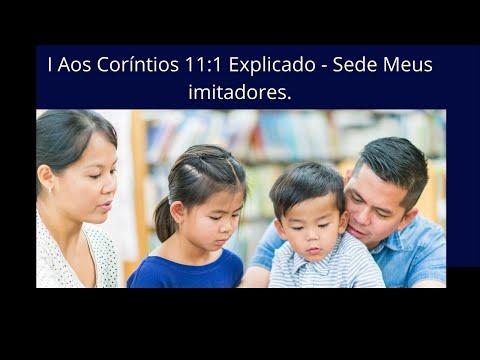 I Aos Corntios 11:1 explicado - sede meus imitadores #esinobblicoeorao #ensinobiblicoeorao