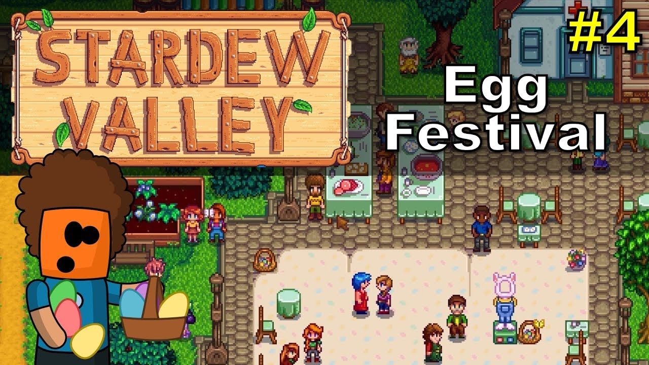 Stardew Valley #4 | Egg Festival