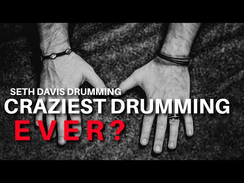 Bare-handed speed drumming.