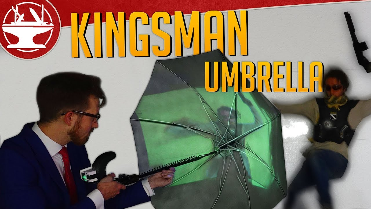 Make it Real: Kingsman Umbrella Gun!