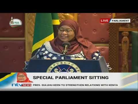 President Samia Suluhu's speech in Kenyan Parliament   FULL VIDEO