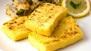 Polenta recept