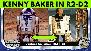 STAR WARS KENNY BAKER INSIDE R2-D2 Episode IV Clips Behind-the-Scenes Pics Toys | Collection THX1138