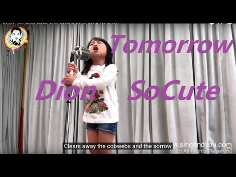 Celine Tam Little Sister, Dion Second Cover Song Tomorrow