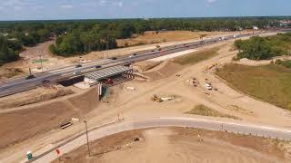 Overland Industrial Park Construction Progress- August 2017