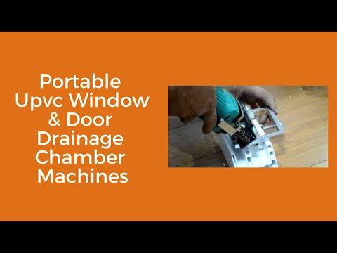 UPVC Window Making Water Slot Machines