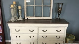 Chalk Paint Bedroom Furniture Tutorial