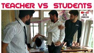 Kashmiri Jokes | Teacher Vs Students | Funny Video | Atz Videos